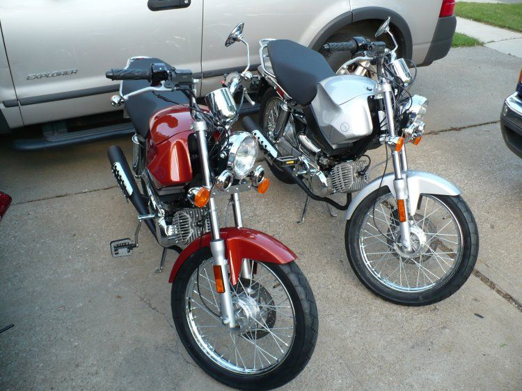 2008 Tomos Streetmate, His and Her's