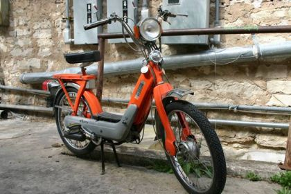 1978 Vespa Ciao Super, Orange