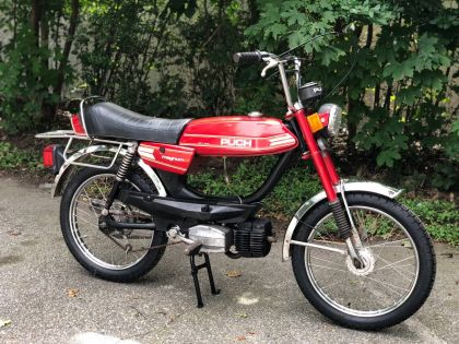 Puch Magnum XK, Red