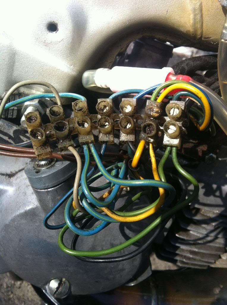 1986 Puch Maxi Wiring [by yoothgeye] — Moped Army