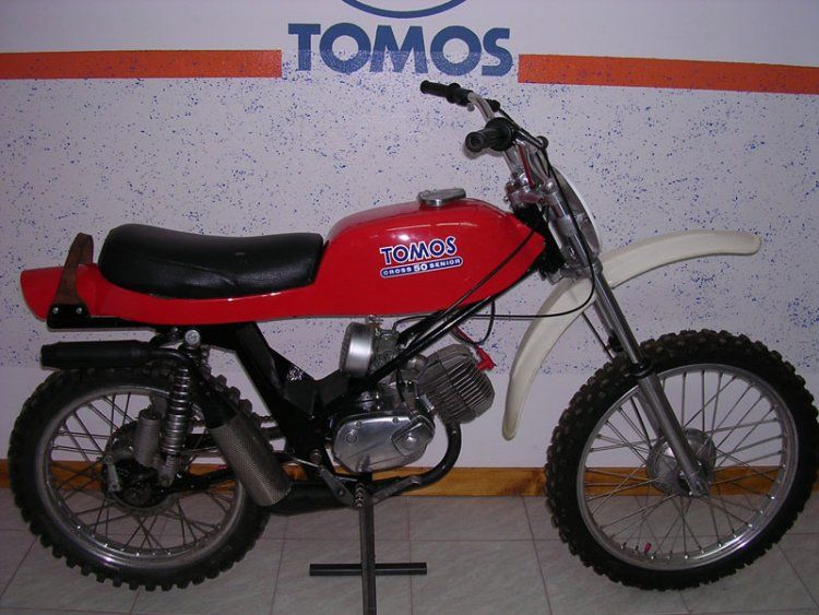 1978 Tomos Cross 50 Senior, Red