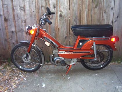 1980 Motobecane Moby, Orange