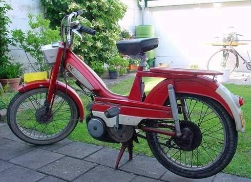 1971 Mobylette, Red