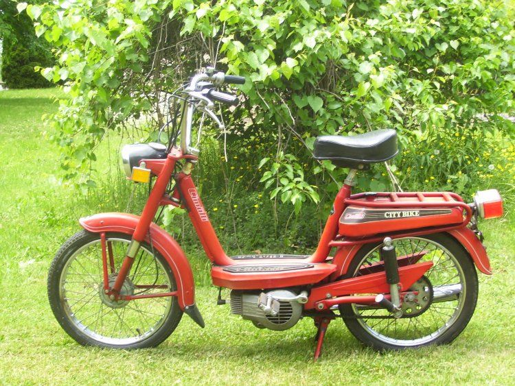 1977 Cimatti City Bike, Red