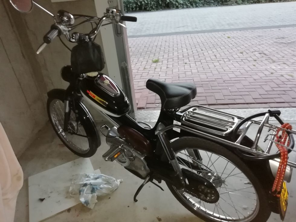 1956 Puch MS50, Black