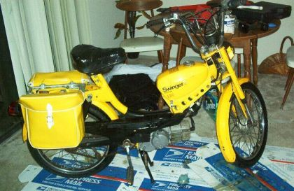 1978 J.C. Penney Swinger 2, Yellow w/ yellow sidebags