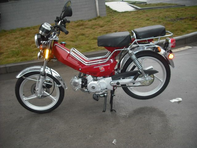 Re: Honda Clone 50cc Engine With built in Pedals — Moped Army