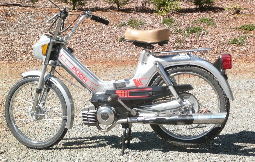 1985 Puch Maxi, Saved from Scrap Yard