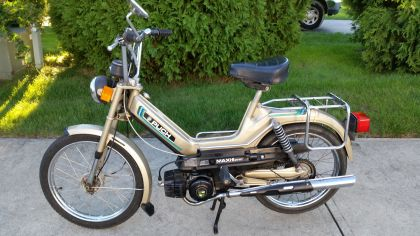 1980 Puch Maxi II, Gold