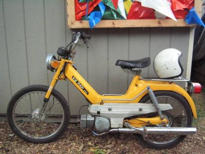 1974 Puch Maxi S, Yellow