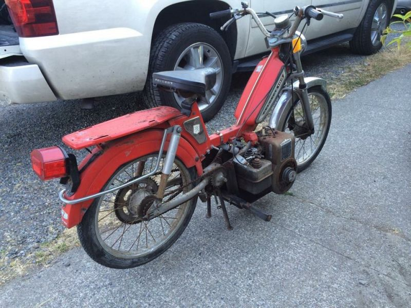 212cc Predator (harbor freight) swap  — Moped Army