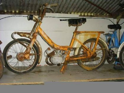 1972 Flandria, Yellow, rusty
