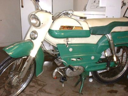 1962 Sparta, Green and White