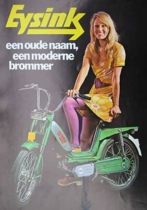 Eysink, Woman and moped