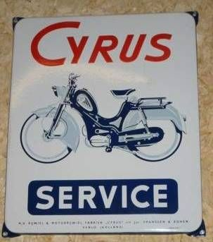 Cyrus, Service Sign