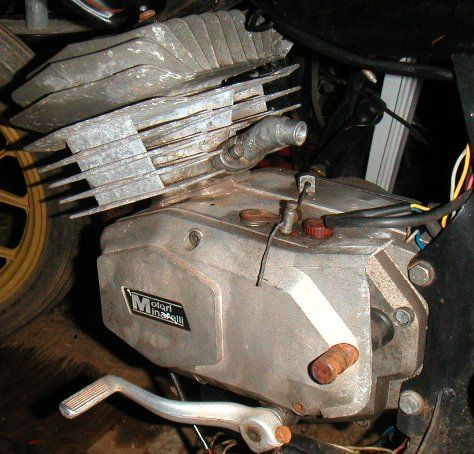 RARE 4 spd  Minarelli Engine For Sale — Moped Army