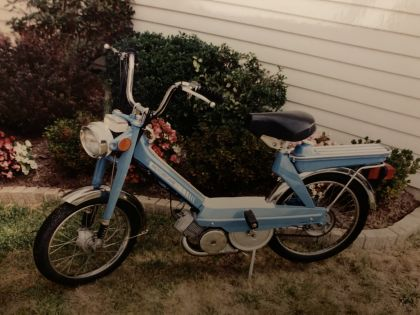 1980 Motobecane, my peds over the years