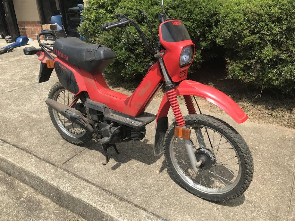 Yamaha Sting, Red
