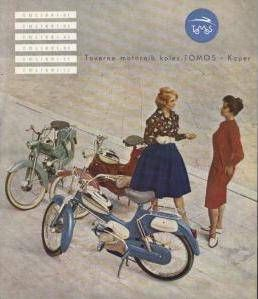 Tomos, Two women, three mopeds