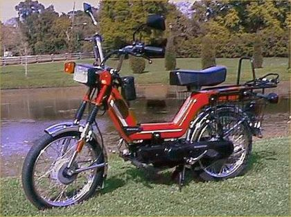 1995 Kinetic TFR, Red