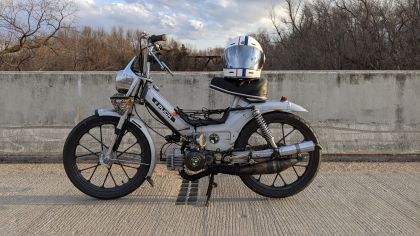 1979 Puch Maxi Luxe, Silver