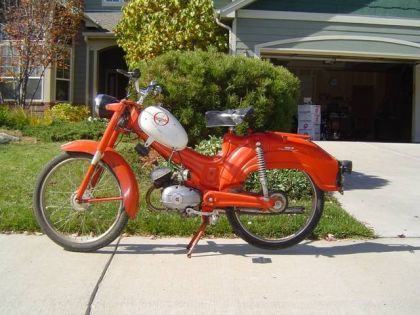 1965 Montgomery Wards Riverside Moped