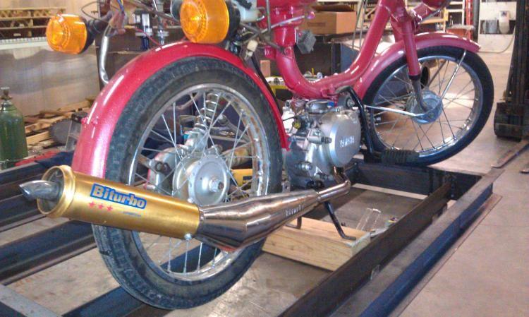Qt50 big bore kit — Moped Army
