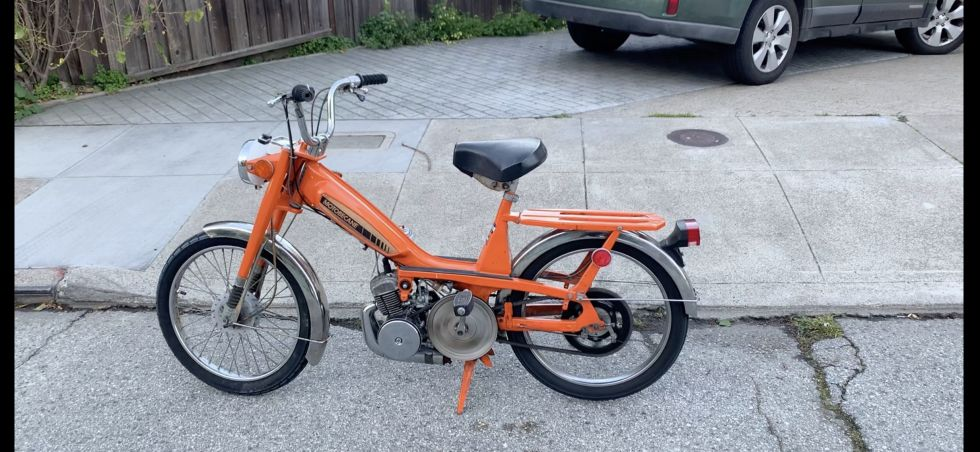 1978 Motobecane 40T, Orange