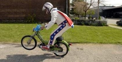 1977 Puch Maxi Luxe, evel kinevel