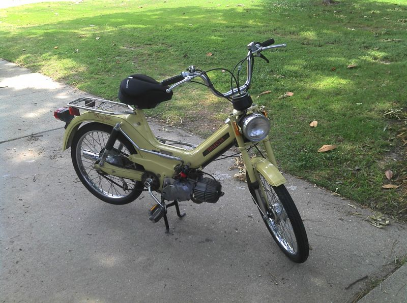 1977 Puch Newport / Maxi moped - $500 — Moped Army