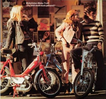 1973 Motobecane, Girls and Boys