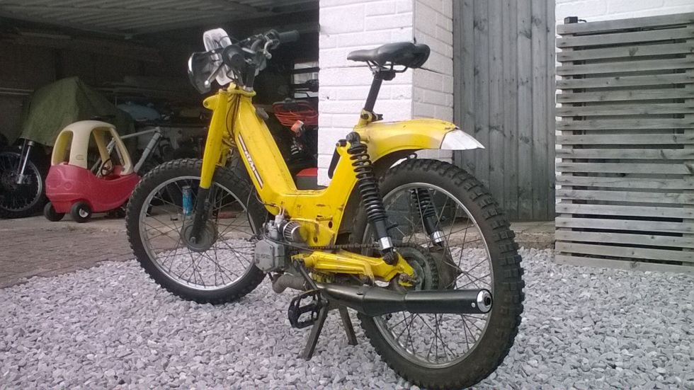 1973 KTM Foxi, Off Road Racer