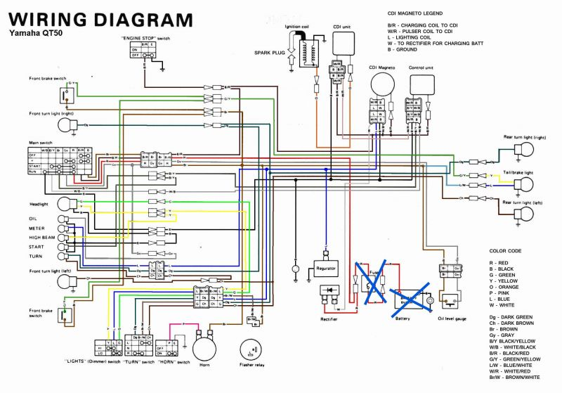 Diagram Qt50 Without Battery Finding Regulator What To Look For