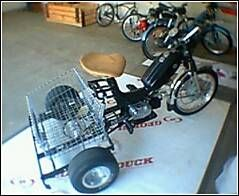 1978 Pryer, 3 Wheel Moped