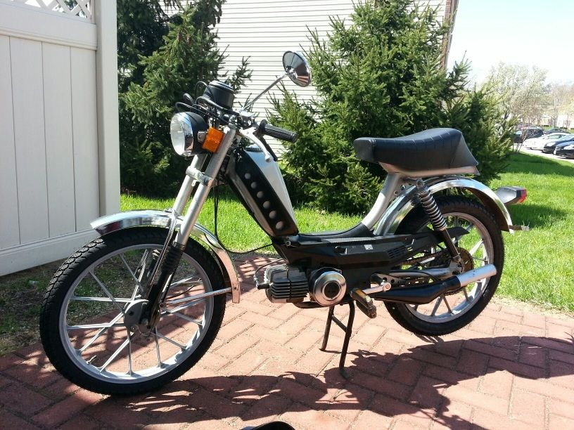 1978 Puch Kromag, Silver and Black