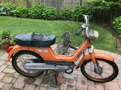 Vespa Boxer 2, Orange