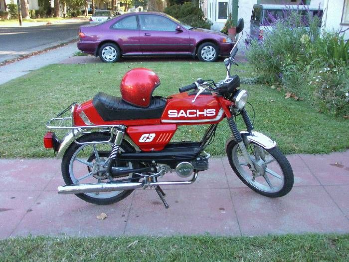 1979 Sachs G-3, Red