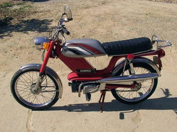 Scorpion Scrambler Moped Army