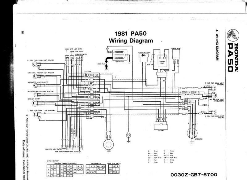 Re: 1983 pa50II wiring arrrrgh!!! — Moped Army