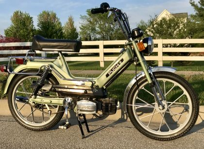 1978 Puch Maxi Sport MKII, Green