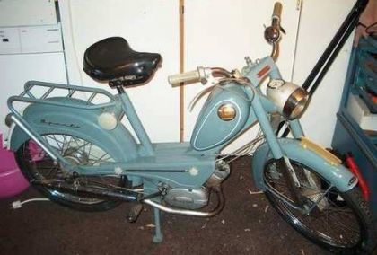 1963 Sparta GS50, Light Blue