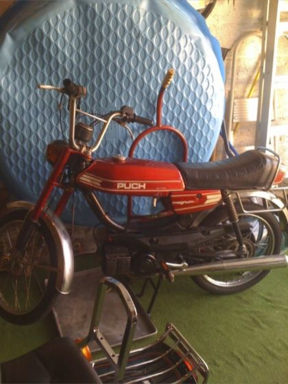 1979 Puch Magnum XK, Red