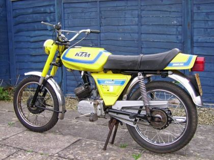 KTM Comet Racer, Yellow