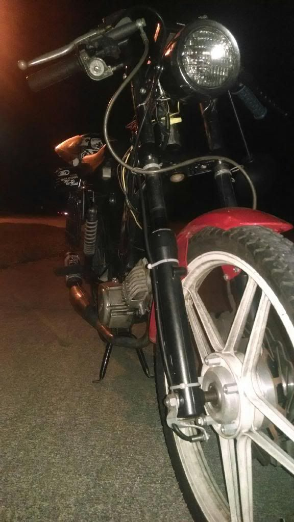 FS: Tomos Disc Brake Front End — Moped Army