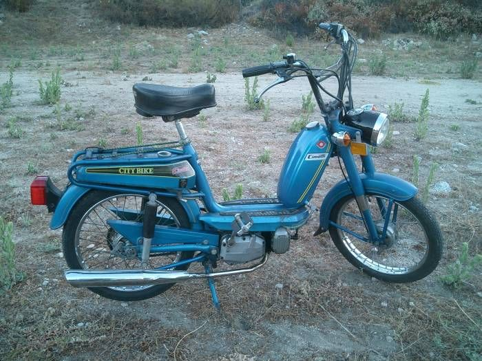 1977 Cimatti City Bike, Blue