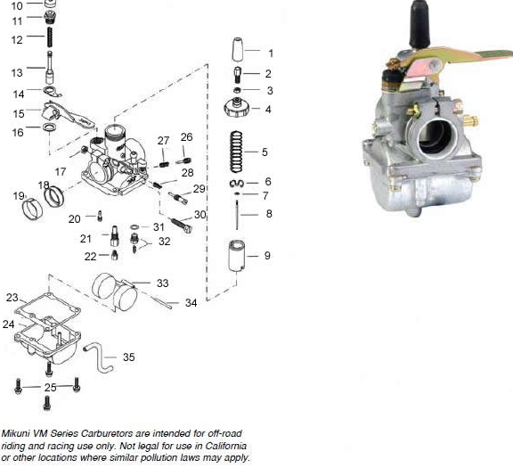 VM18 needle jet? — Moped Army