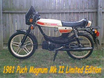 1981 Puch Magnum Limited LTD