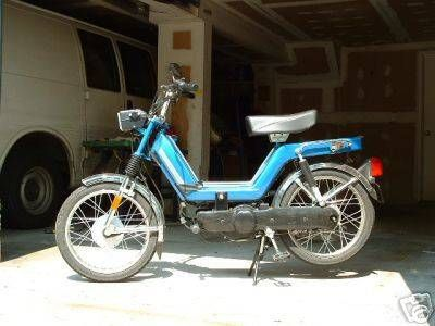 2003 Kinetic TFR, Blue