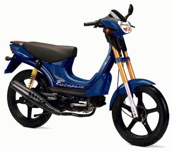 2001 Derbi Revolution, Blue and Gold