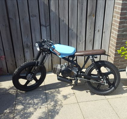 1980 Puch Magnum X, cafe racer